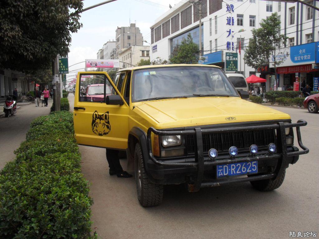此车已经出售 jeep 切诺基越野车一辆 6800元 陆良二手 陆高清图片